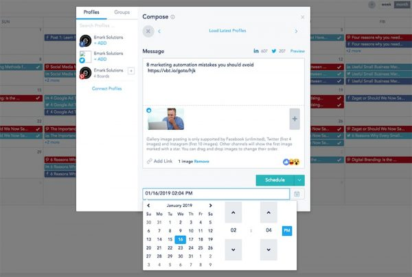 Manage and automate social media