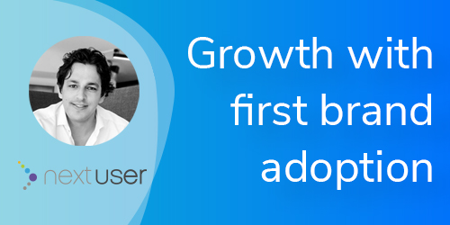 VBOUT Vcast Growth with First Brand Adoption with NextUser