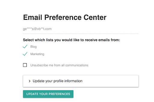 Update-contact-preferences
