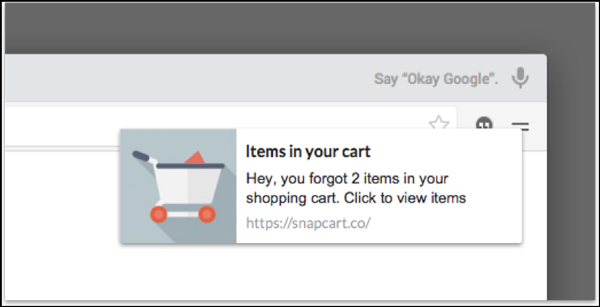 Browser-push-notification-for-cart-abandonment