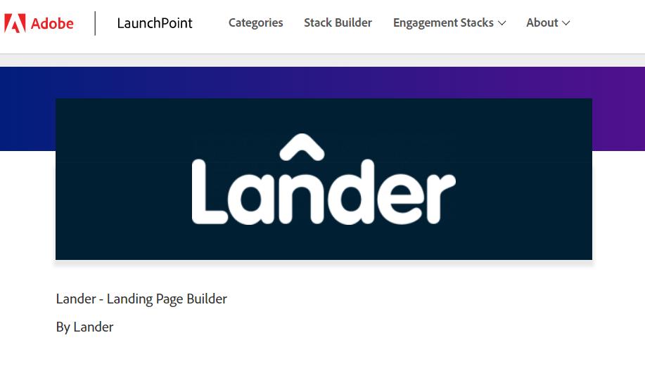 Marketo landing page builder