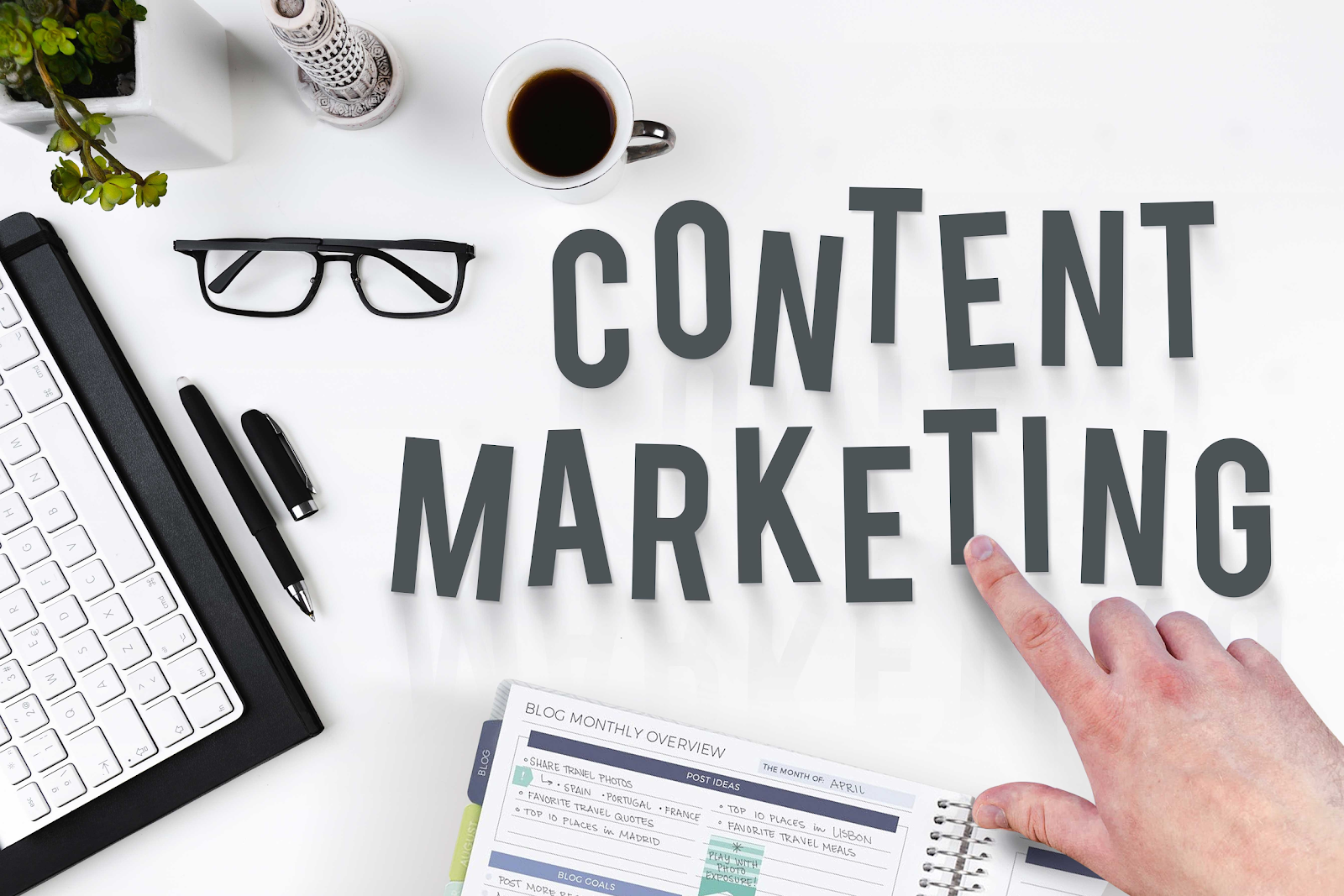 Create a strong content marketing strategy
