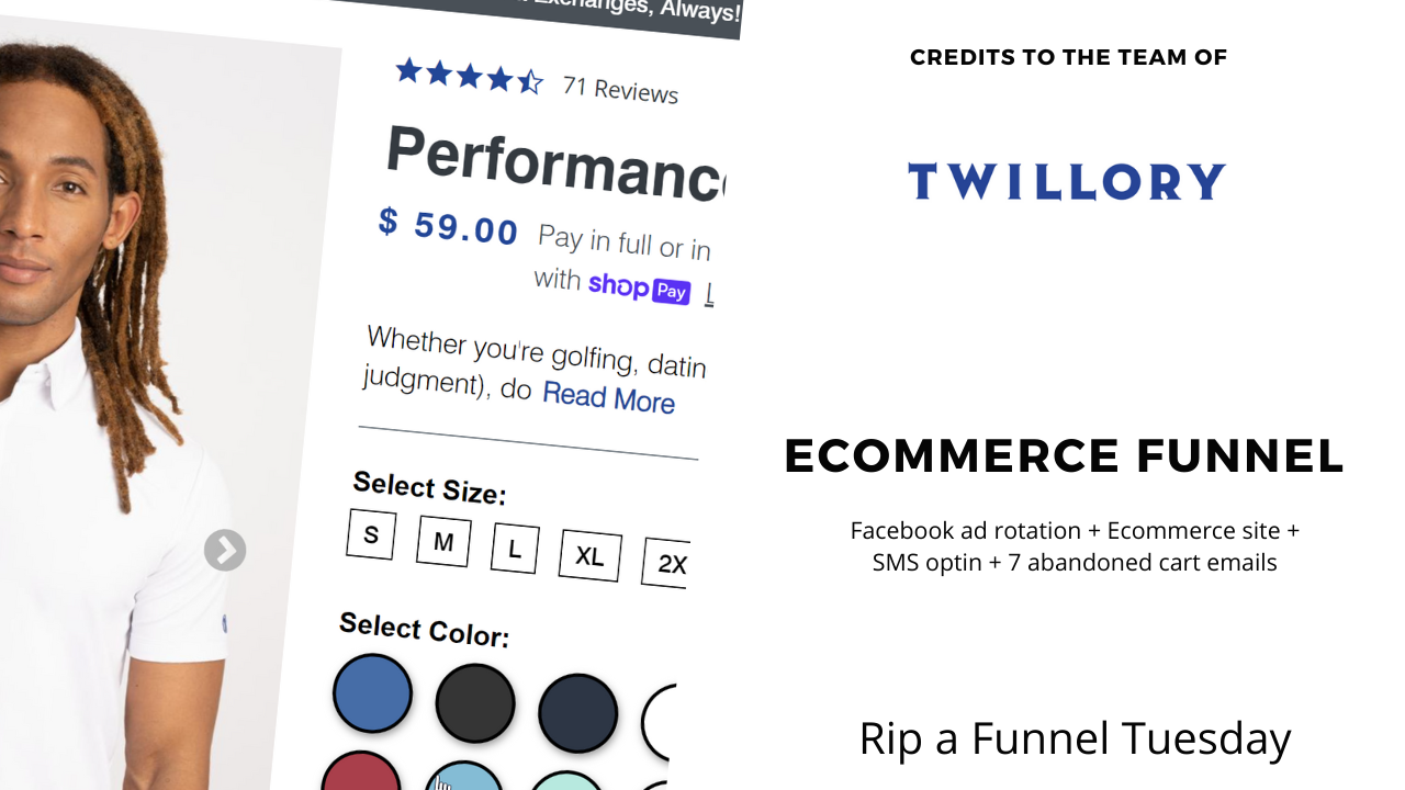 Solid Ecommerce Funnel by Twillory